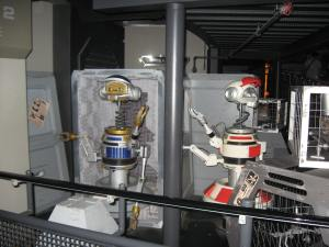 Old Star Tours Droids