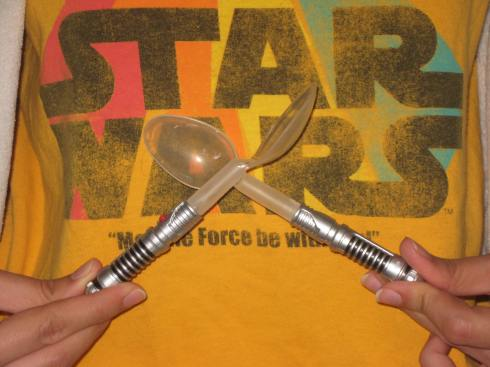 Lightsaber Spoons