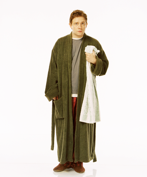 Arthur Dent from Hitchhiker's Guide to the Galaxy
