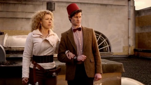 Doctor Who and River Song (I have friends who did this last year and it was awesome)