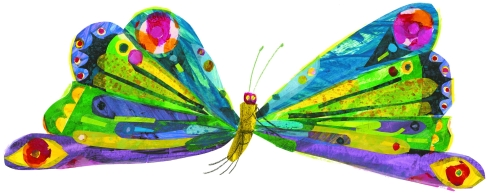 very hungry caterpillar butterfly
